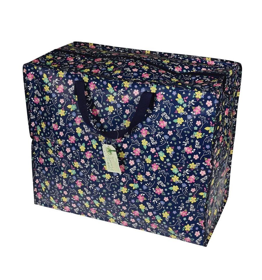 Grand sac de rangement coquelicots for Grand rangement