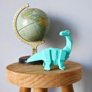 Mini veilleuse LED Brachiosaure mint