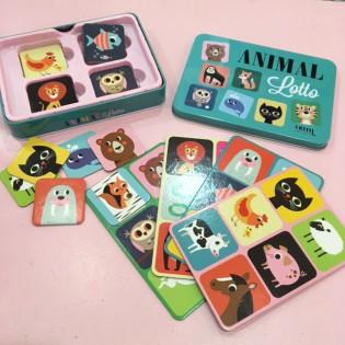 Loto animaux Ingela Arrhenius Omm Design