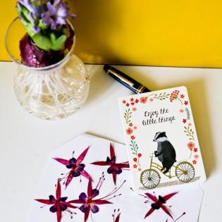 Petit carnet Enjoy the little things