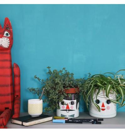 2 caches pots personnages Ingela Arrhenius - Omm Design