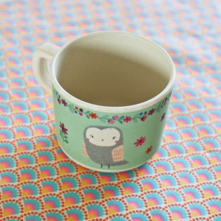 Tasse en bamboo woodland friends