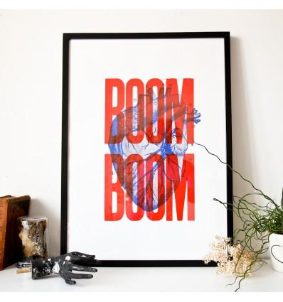 Boom Boom - Sérigraphie