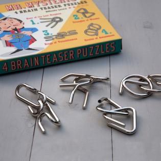 4 Puzzles Cérébraux de M. Mysterio
