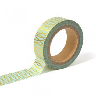 Masking tape mint pampille or Toga