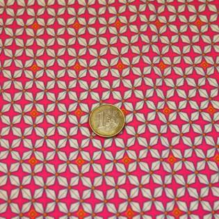 Tissu Petit pan Hélium rose
