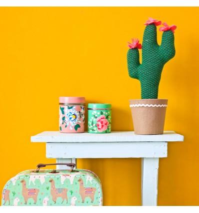 Grand Cactus fleurs roses