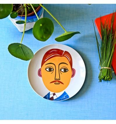 Assiette céramique Mr Peterson - Kitsch Kitchen