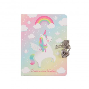 Carnet secret licorne - Sass & Belle
