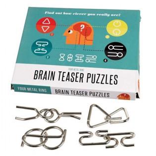 4 Puzzles Cérébraux