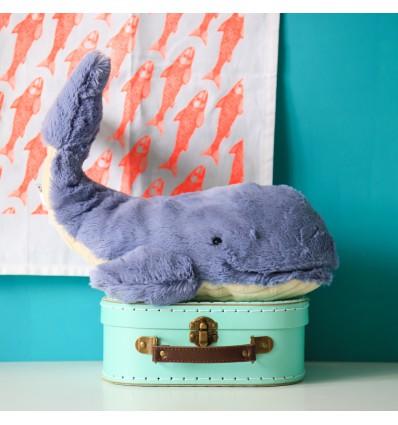 Peluche baleine Wilbur S Jellycat