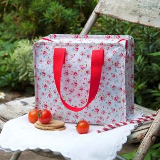 Petit sac zippé Petites roses