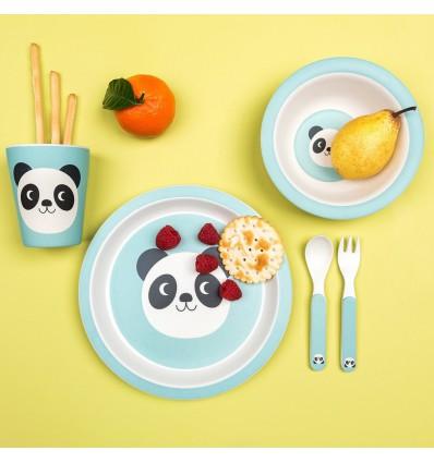 Set vaisselle Bambou Miko le Panda