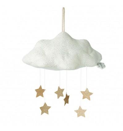 Nuage blanc & ses étoiles - Picca Loulou