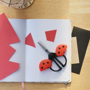 Ciseaux pour enfants Coccinelle - Rico Design