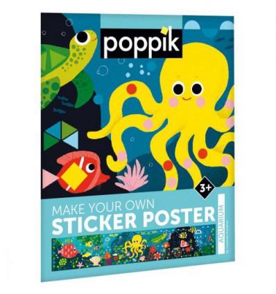 Aquarium / stickers poster - Poppik