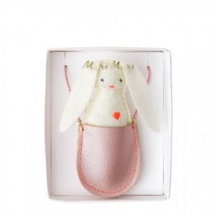 Collier lapin de poche - Meri Meri
