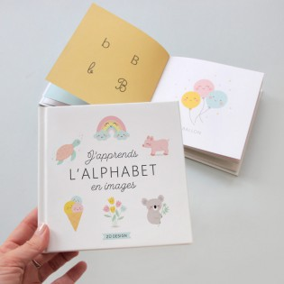 Livre J'apprends l'alphabet en images - Zü