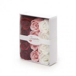 Coffret de 12 roses confetti de bain - Isabelle Laurier