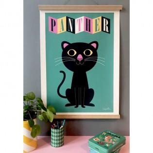 Affiche Panthère d'Ingela Arrhenius - OMM Design