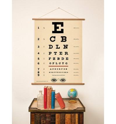 Affiche pédagogique Tableau de Sneller - Cavallini & Co