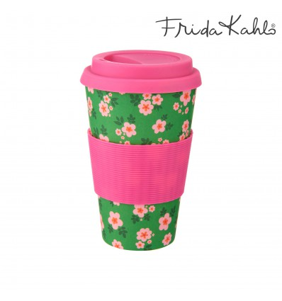 Coffee cup Frida en bambou - Sass & Belle