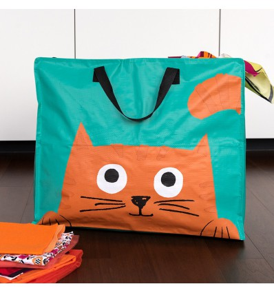 Grand sac de rangement Chester le chat