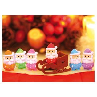 Gomme japonaise Père Noël