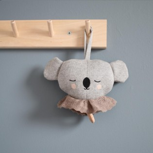 Koala musical en coton bio - EFF Lillemor