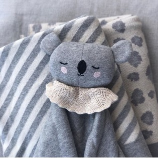 Doudou koala en coton bio - Eef Lillemor