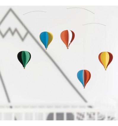 Mobile 5 montgolfières - Flensted