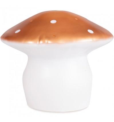 Grande lampe veilleuse champignon Cuivre - Egmont Toys