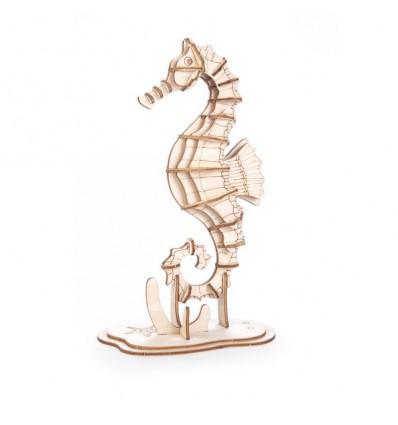 Puzzle 3D en bois Hippocampe