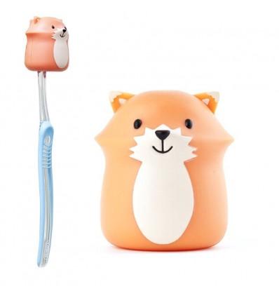 Porte brosse à dents Renard