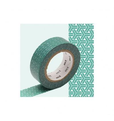 Masking Tape Kumikikkou bleu
