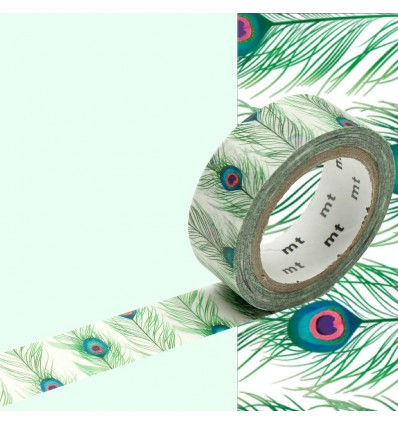 Masking Tape Plumes Paon