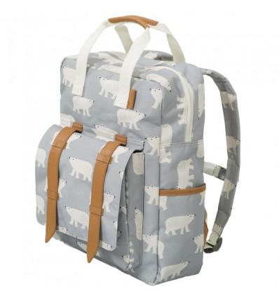 Grand sac à dos Ours Polaire - Fresk