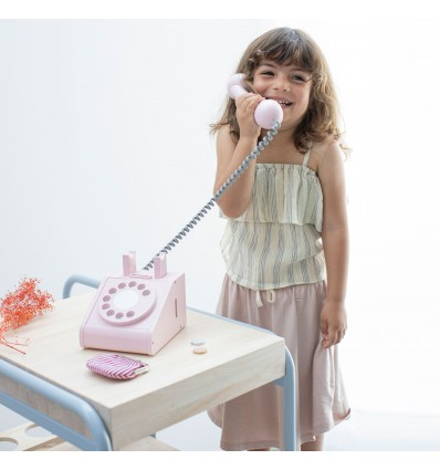 Téléphone rétro rose - Kiko+gg