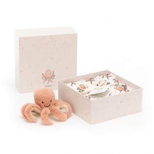 Coffret naissance Odell octopus - Jellycat