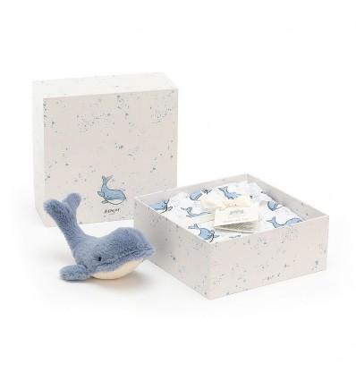 Coffret naissance Wilbur baleine - Jellycat
