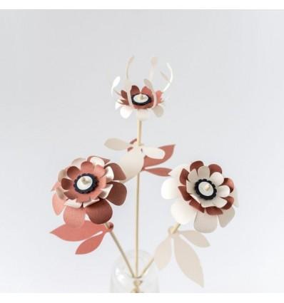 Fleurs en papier - Assembli