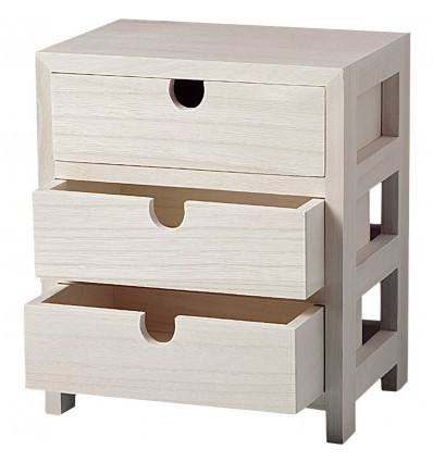 Petite commode 3 tiroirs - Rico Design