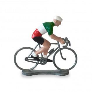 Figurine cycliste Italie - Bernard & Eddy
