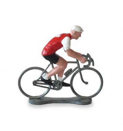 Figurine cycliste Canada - Bernard & Eddy