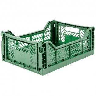 Caisse medium AY-KASA Almond Green