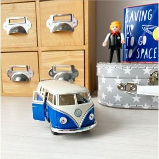 Van Volkswagen Bleu à friction