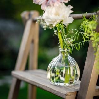 Vase rétro en verre - Antoinette