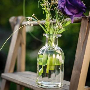Vase rétro en verre ciselé - Lali