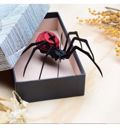 Insecte DIY Araignée Rouge - Assembli