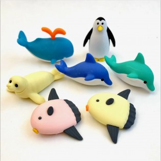 Gomme japonaise Animaux Marins